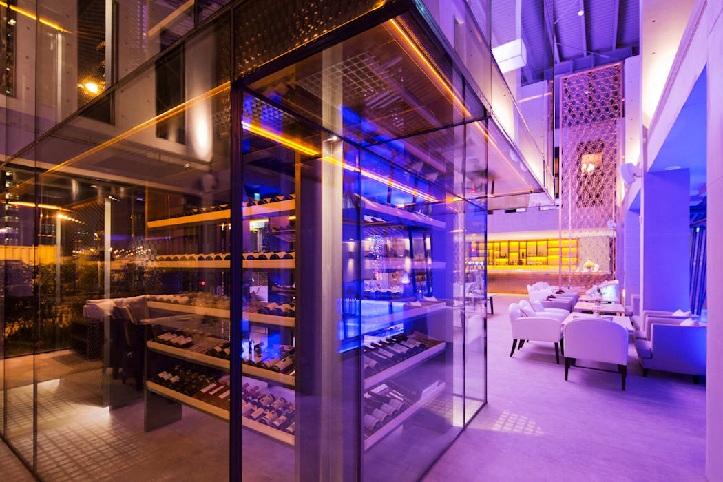 Beluga Restaurant& Bar 酒窖 根據 原形空間設計 現代風