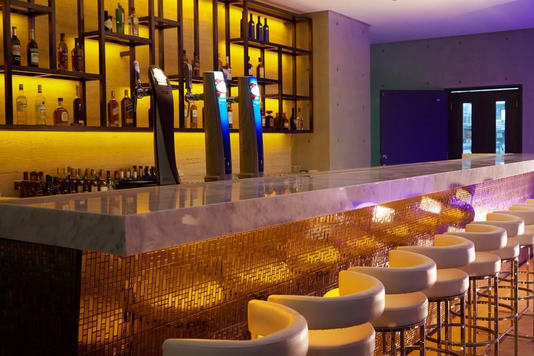 Beluga Restaurant& Bar 吧台區 根據 原形空間設計 現代風