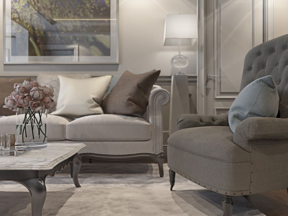 Classic style living room by OBJECT Classic