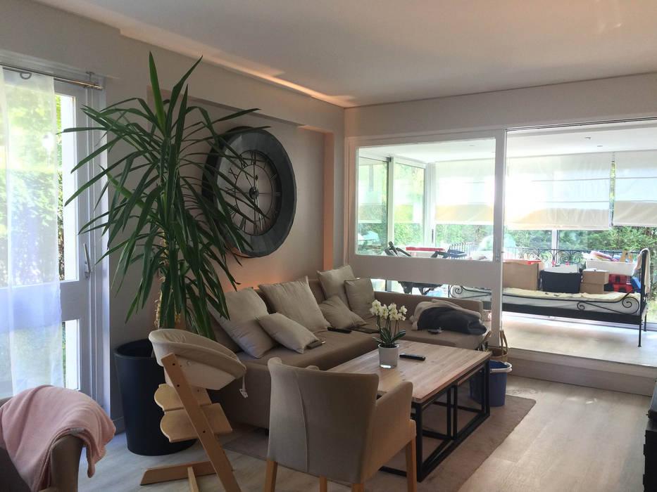 Appartement Le Chesnay: Salle à manger de style de style Classique par Nuance d'intérieur