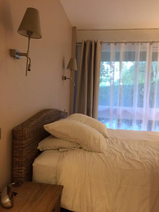 Appartement Le Chesnay: Chambre de style  par Nuance d'intérieur