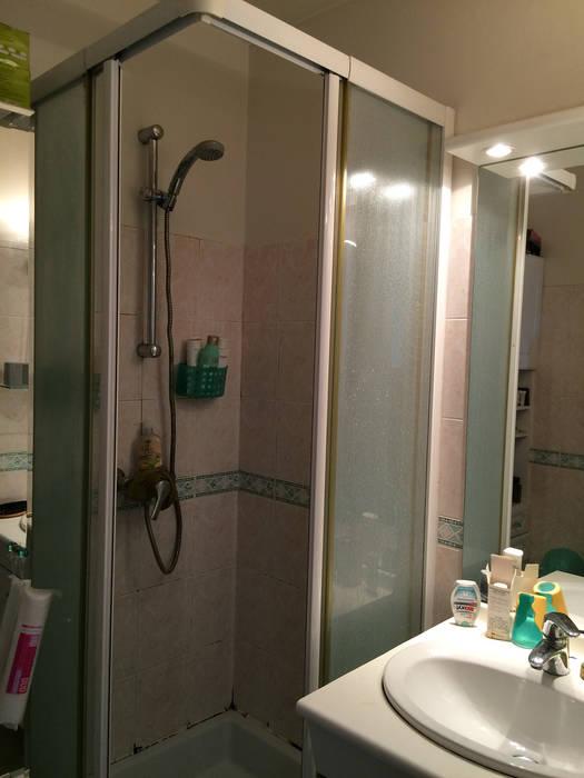 Maison à Meudon: Salle de bains de style  par Nuance d'intérieur