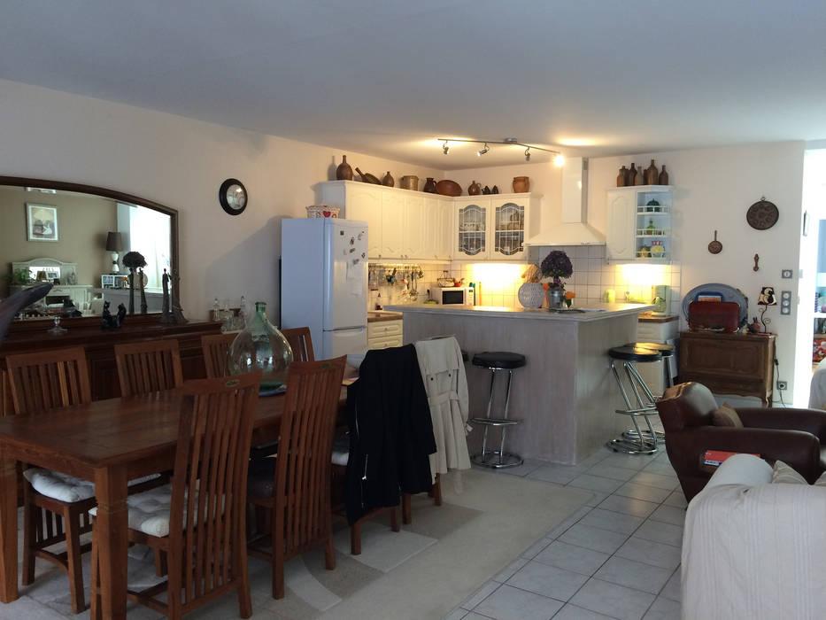Appartement à Sartrouville: Cuisine de style  par Nuance d'intérieur