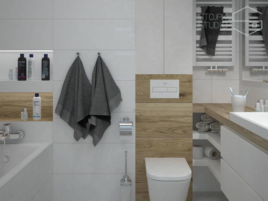 Wizualizacja Projektu Dużej łazienki Styl W Kategorii
