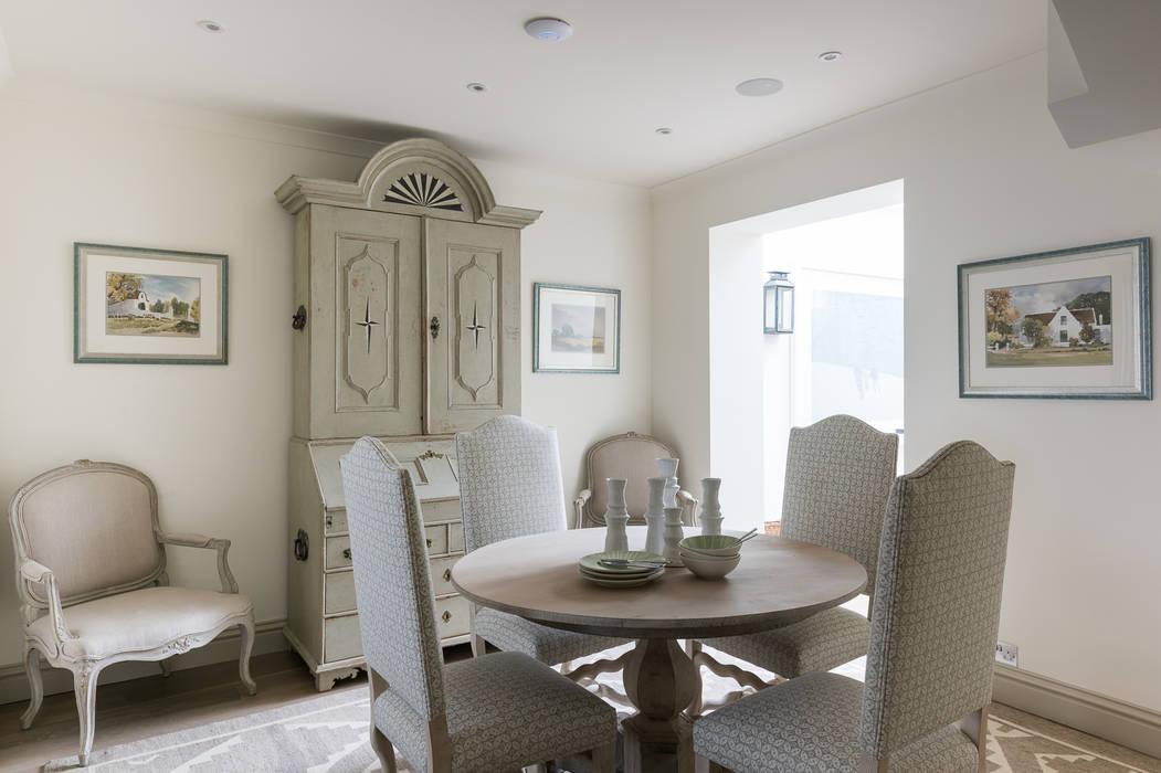 Hillgate Place, Notting Hill Ruang Makan Klasik Oleh Grand Design London Ltd Klasik