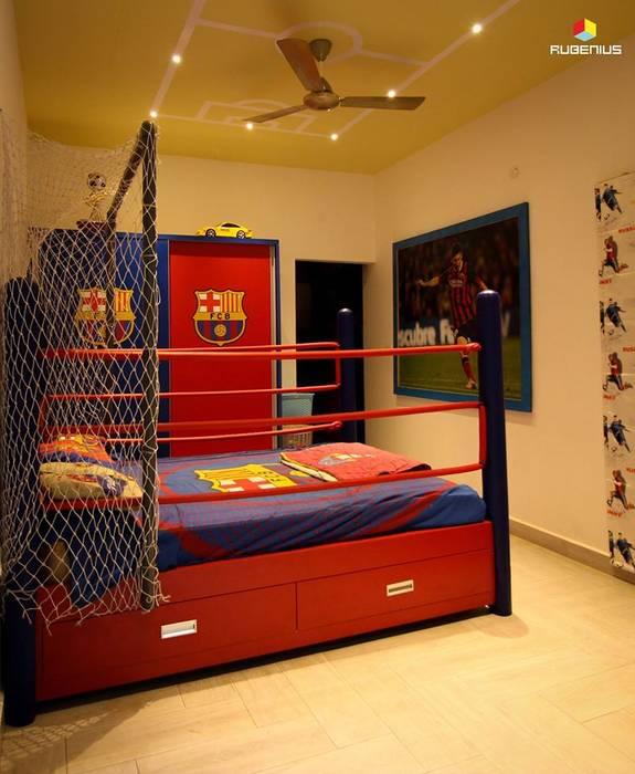 KIDS ROOM :  Nursery/kid's room by Rubenius Interiors