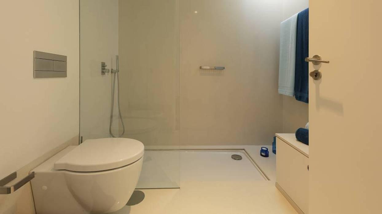Zona de duche por Padimat Design+Technic Moderno