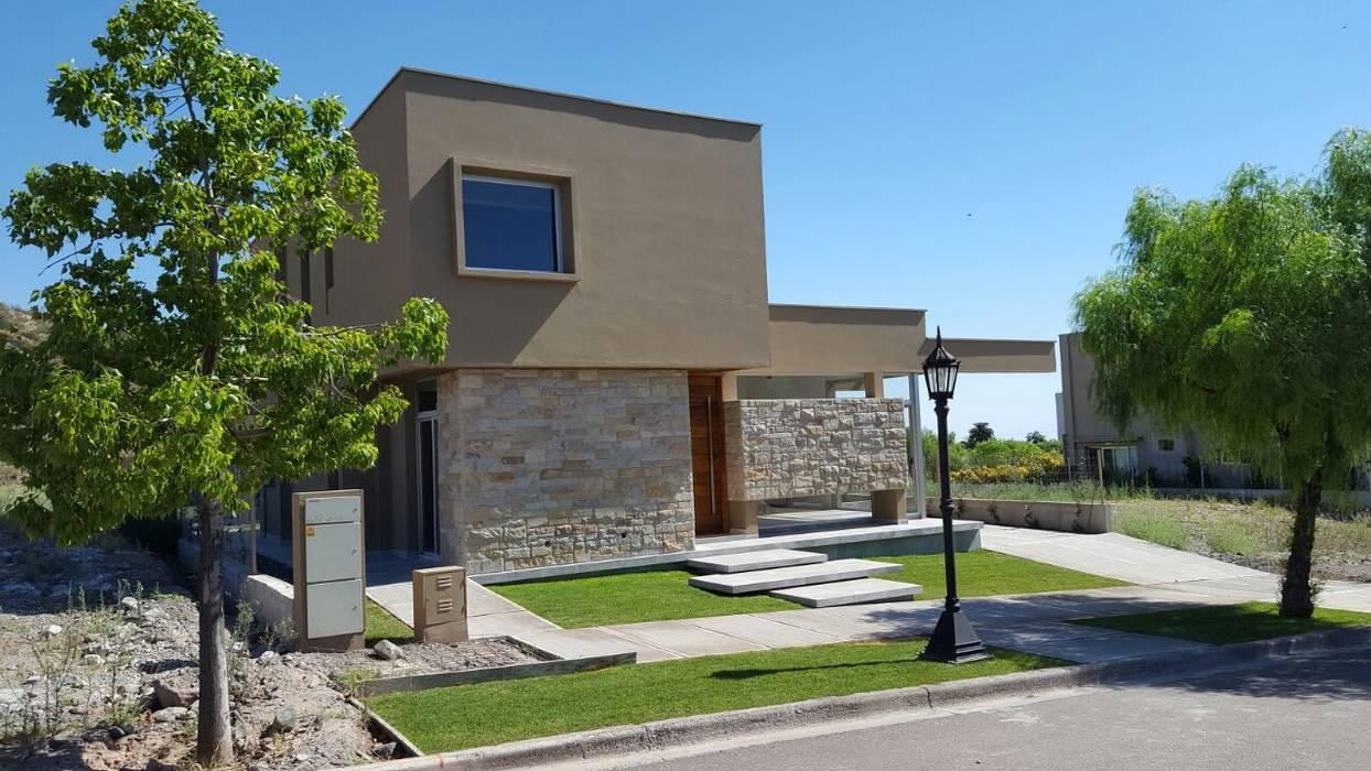Casas de estilo minimalista de MABEL ABASOLO ARQUITECTURA Minimalista