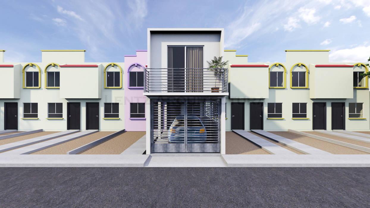 Casas de estilo por lentz arquitectura dise o y for Arquitectura diseno y construccion