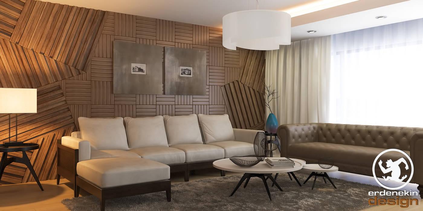 Modern living room by Erden Ekin Design Modern