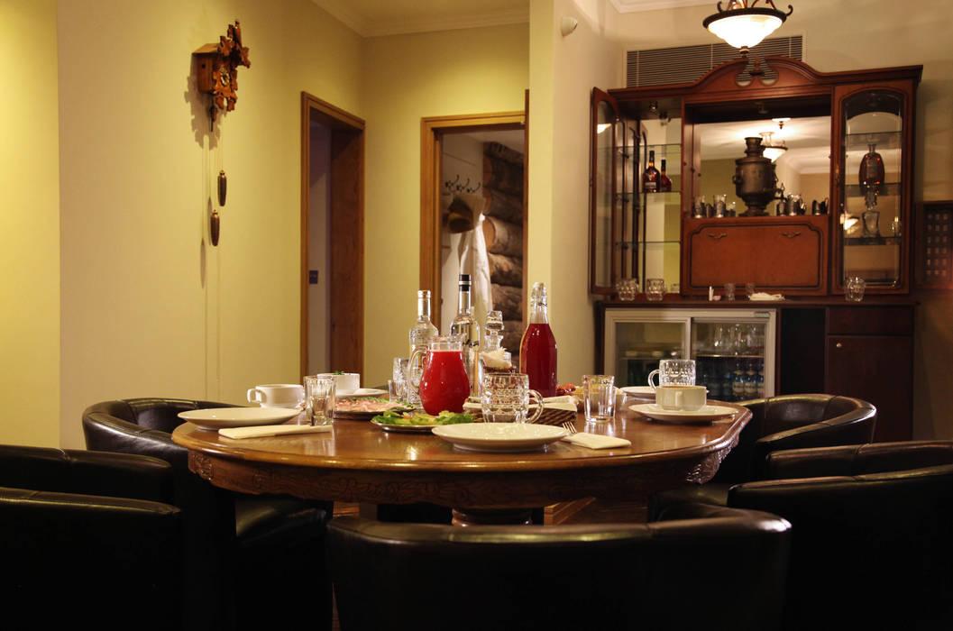 Lounge Oleh Natalia Interior Design Eklektik Kayu Wood effect