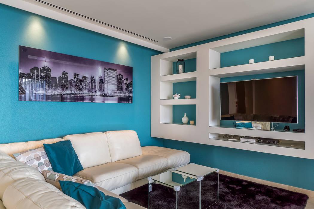 Sala de estar Salas de estar modernas por Zenaida Lima Fotografia Moderno