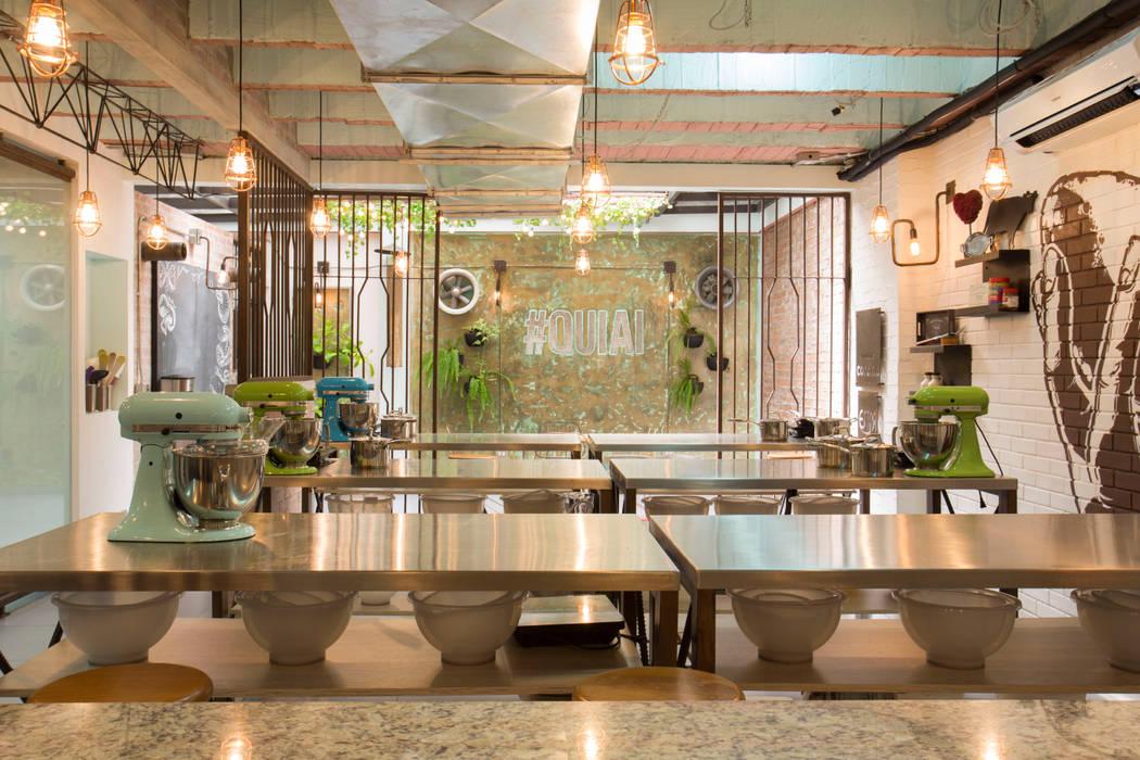 Q.U.I.A.I _ Escuela de Gastrónomía de @tresarquitectos Industrial