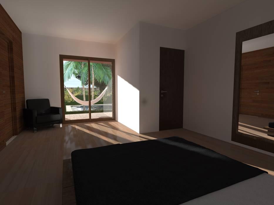 Propuesta Dormitorio Casas estilo moderno: ideas, arquitectura e imágenes de JIEarq Moderno