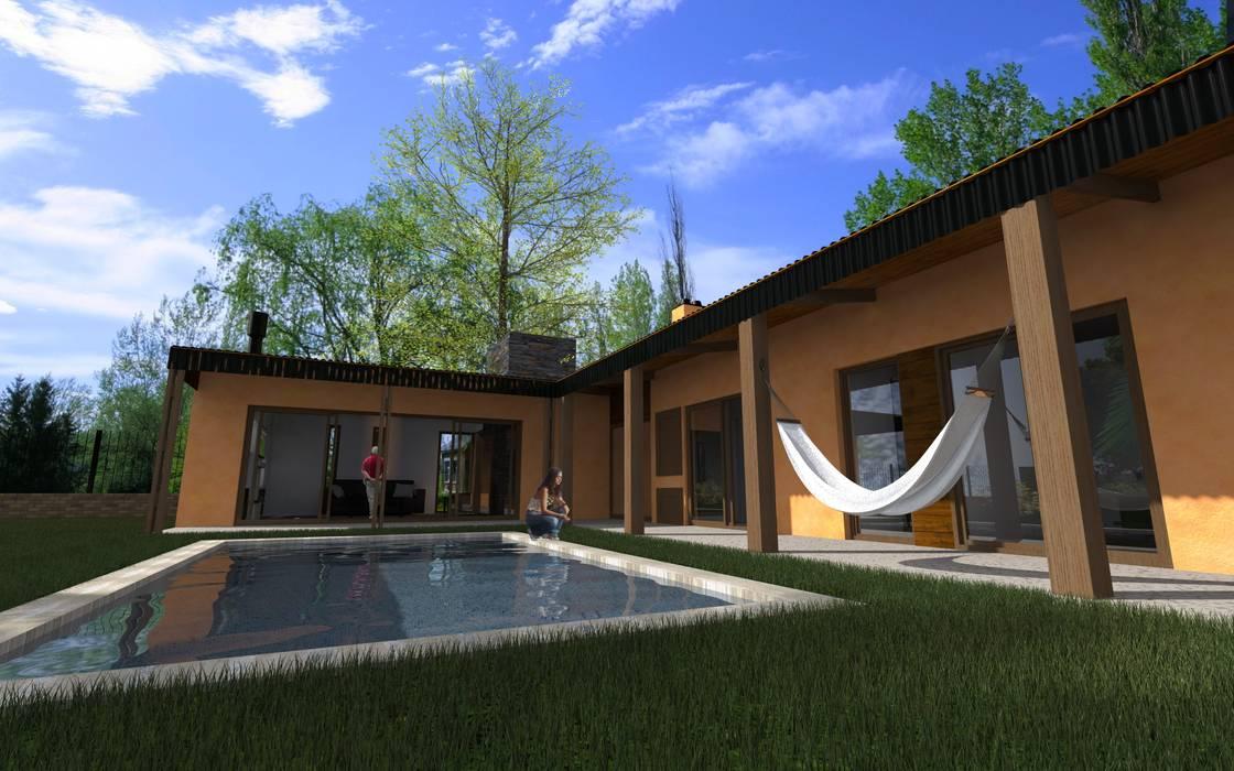 Propuesta Galería: Casas de estilo  por JIEarq
