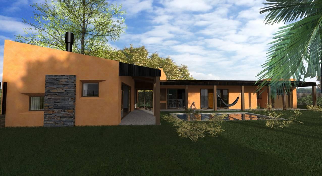 Propuesta Lateral Casas estilo moderno: ideas, arquitectura e imágenes de JIEarq Moderno