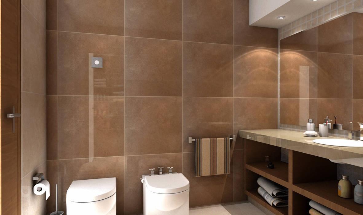 Baño: Baños de estilo  por JIEarq