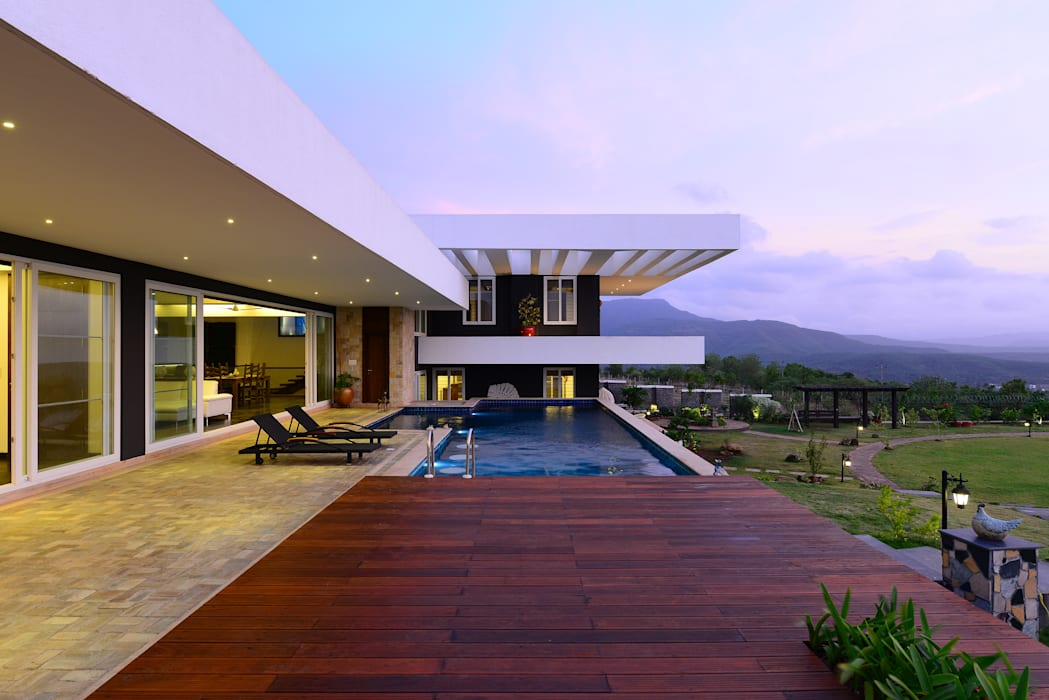 11 K-Waks:  Houses by Studio K-7 Designs Pvt. Ltd