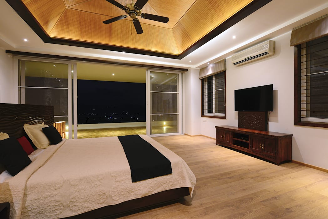 11 K-Waks Modern style bedroom by Studio K-7 Designs Pvt. Ltd Modern Wood Wood effect
