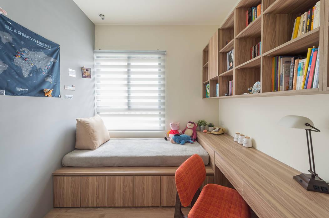 MAP HOUSE:  書房/辦公室 by 齊禾設計有限公司,