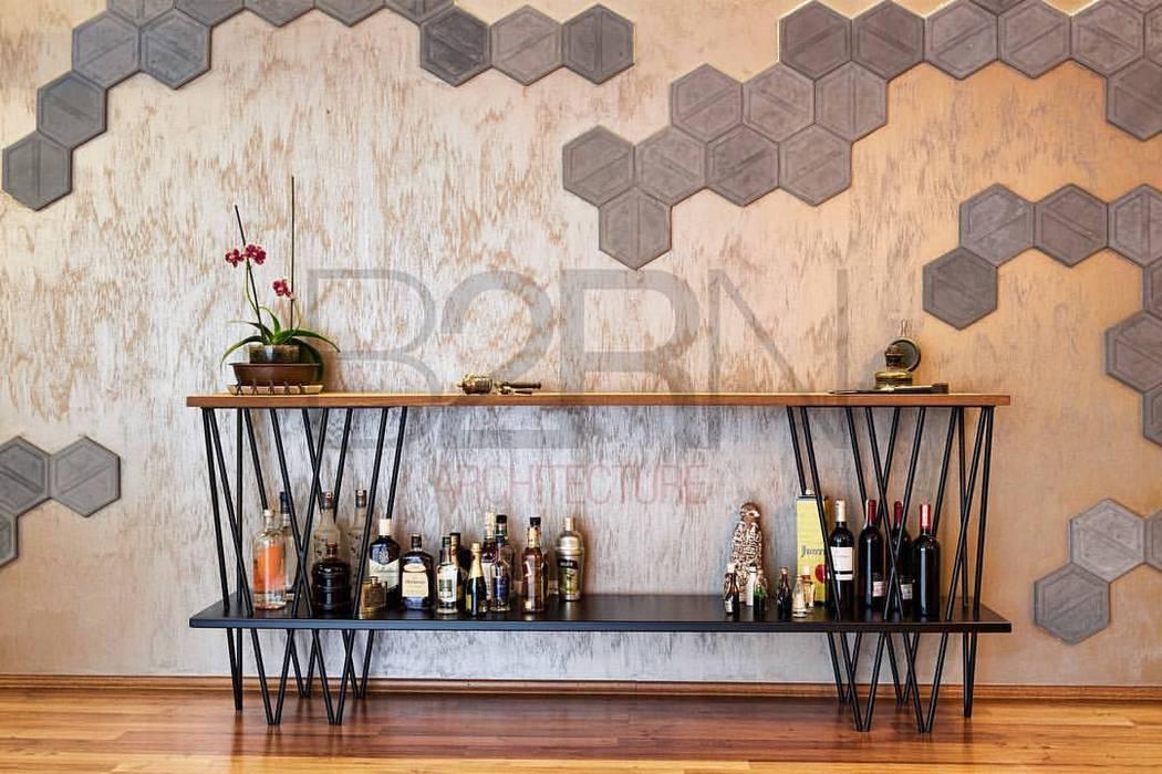Ruang Penyimpanan Wine/Anggur Modern Oleh B2RN Architecture Modern