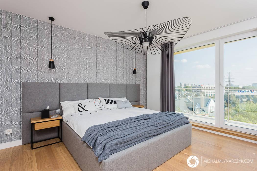 Chambre moderne par Michał Młynarczyk Fotograf Wnętrz Moderne
