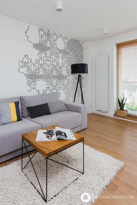 Livings de estilo moderno de Michał Młynarczyk Fotograf Wnętrz Moderno