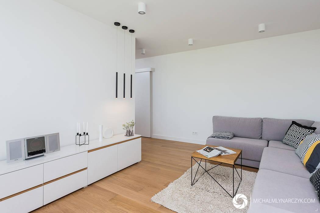 Salon moderne par Michał Młynarczyk Fotograf Wnętrz Moderne