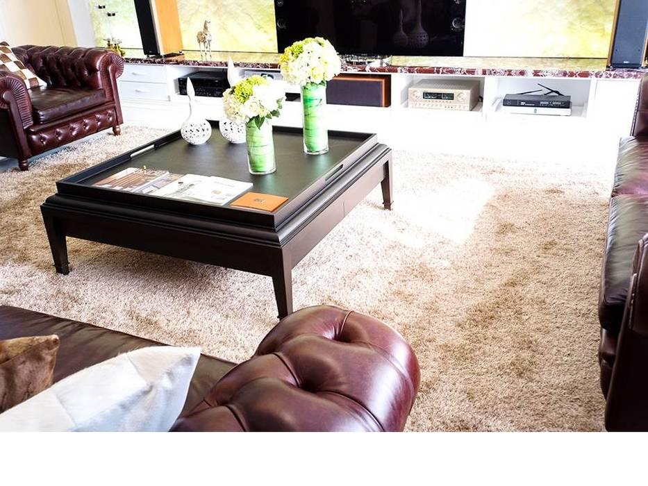 京悅設計 - 誠臻邸豪宅會所:  客廳 by 京悅室內裝修設計工程(有)公司|真水空間建築設計居研所
