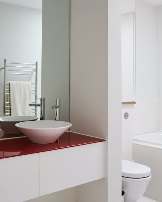 Chelsea Town house Jam Space Ltd Eclectic style bathroom