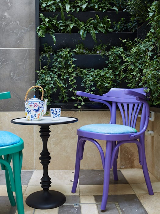 Chelsea Town house Jam Space Ltd Eclectic style garden