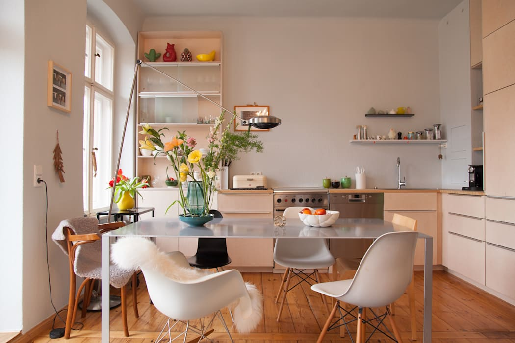 Kuche Aus Hellem Holz In Berlin Kuche Von Berlin Interior Design