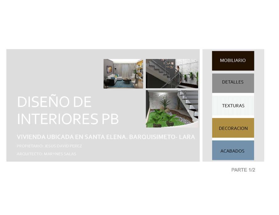 Portada: Casas de estilo  por Arq. Marynes Salas