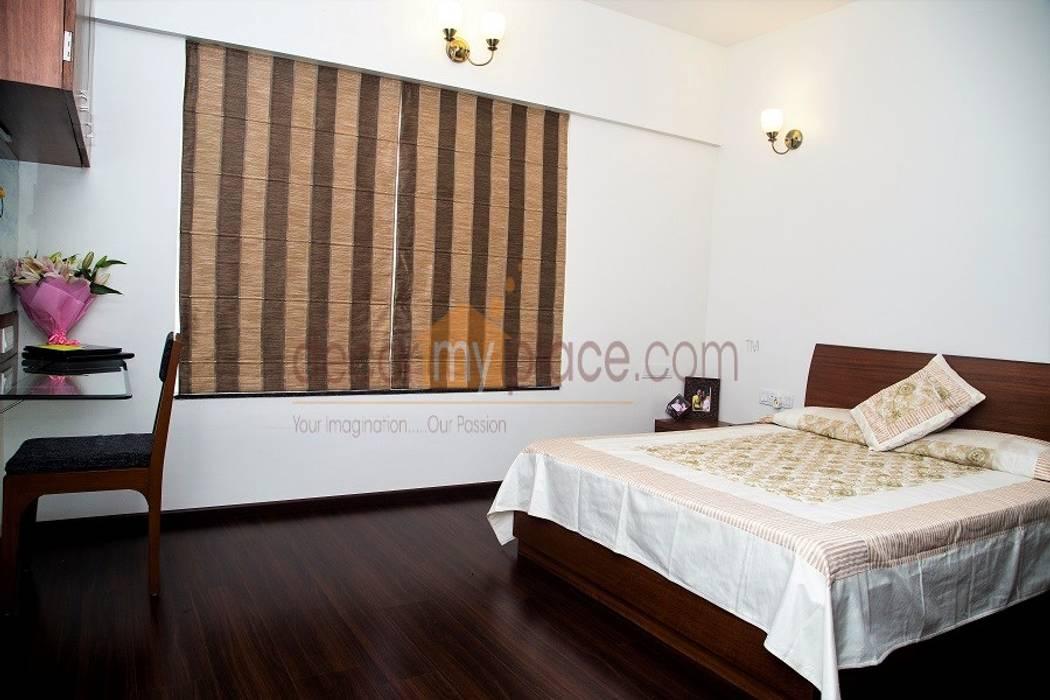 KOLTE PATIL 24 K PUNE decormyplace Modern style bedroom