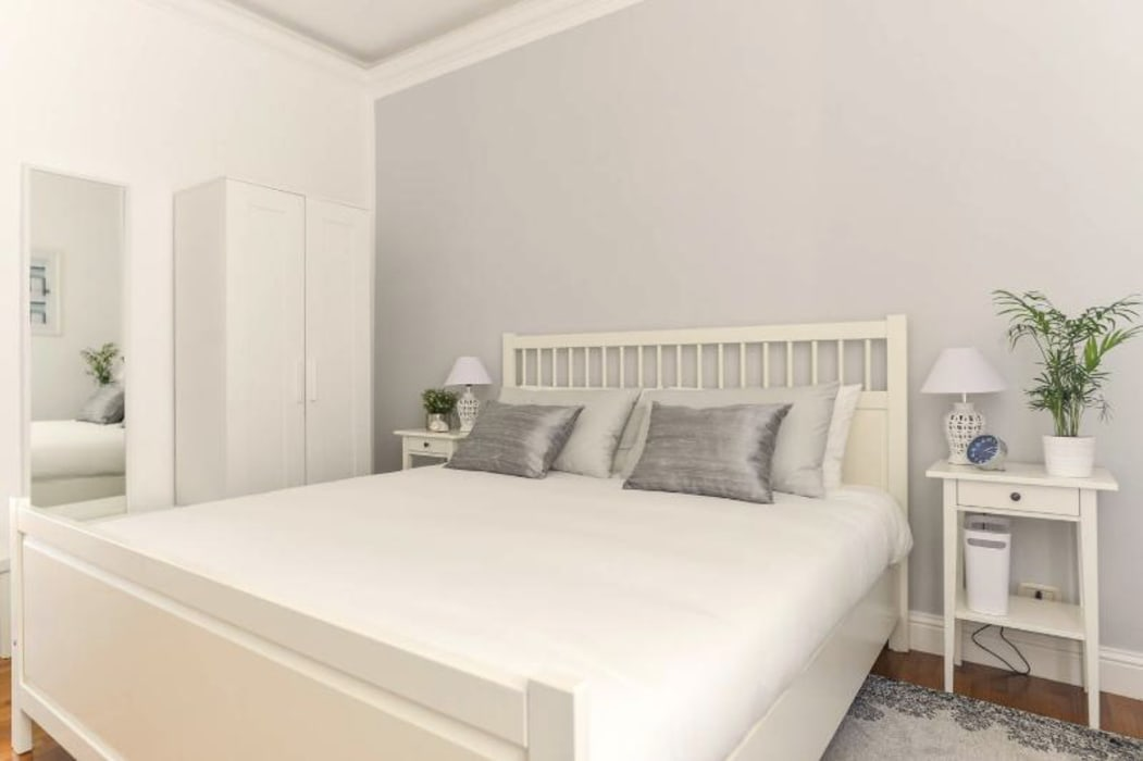 Scandinavian style bedroom by 07am architetti Scandinavian