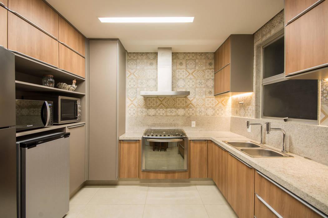 Natália Parreira Design de Interiores Cucina eclettica