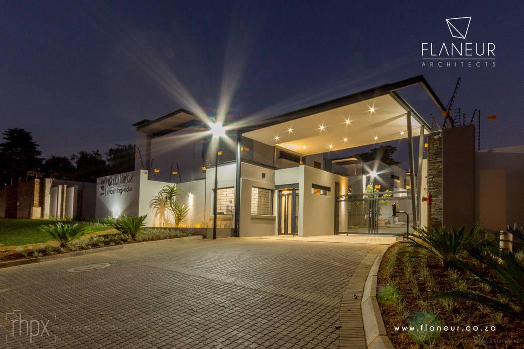 Salida del Sol Morningside Modern Houses by Flaneur Architects Modern