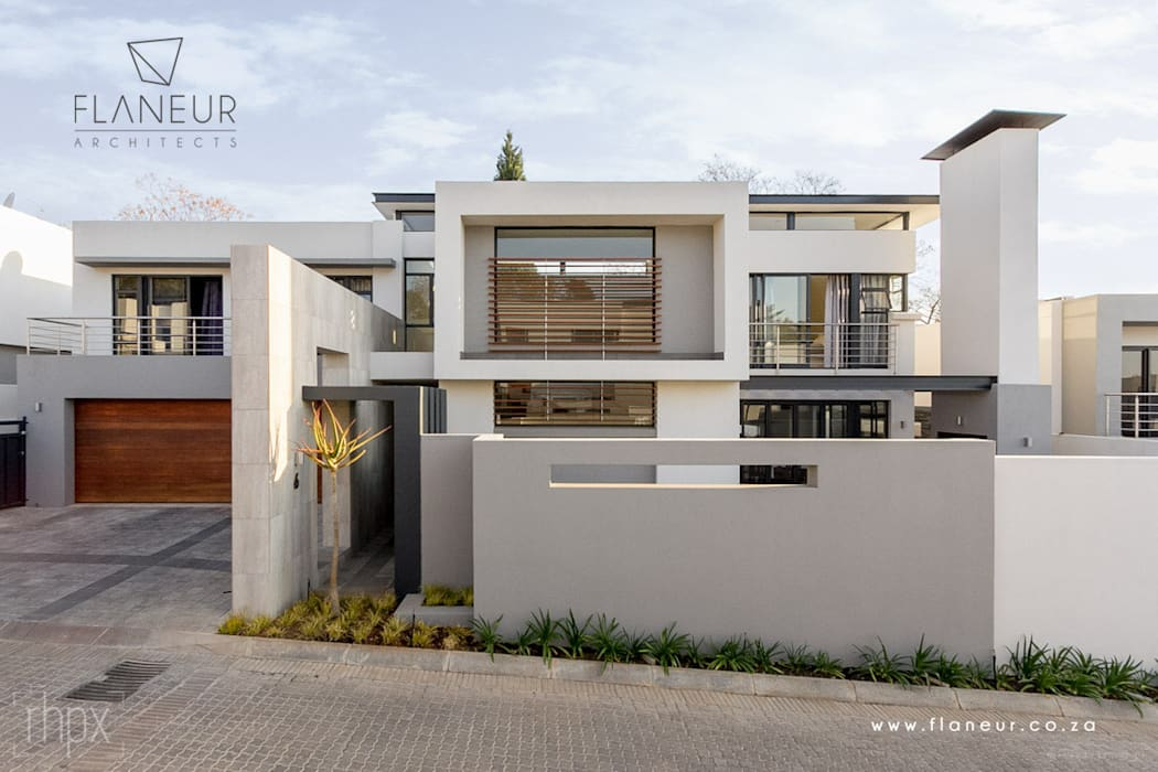 Houses by Flaneur Architects, Modern