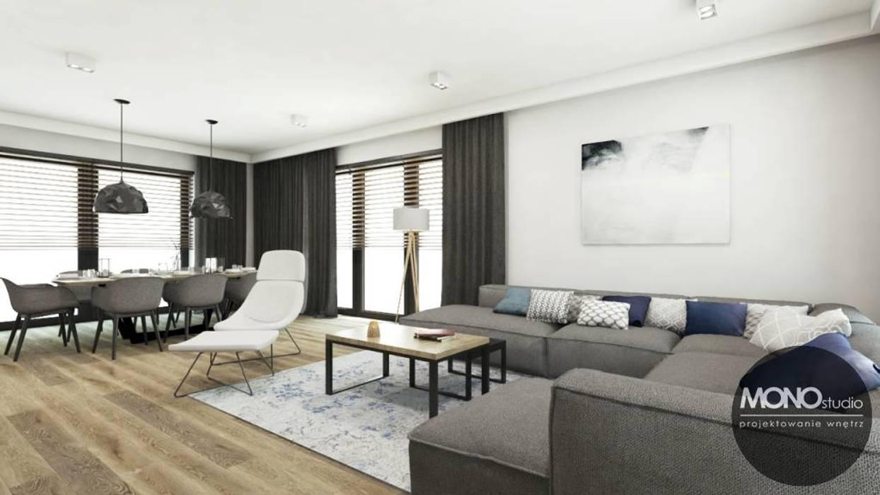 Salas de estar minimalistas por MONOstudio Minimalista