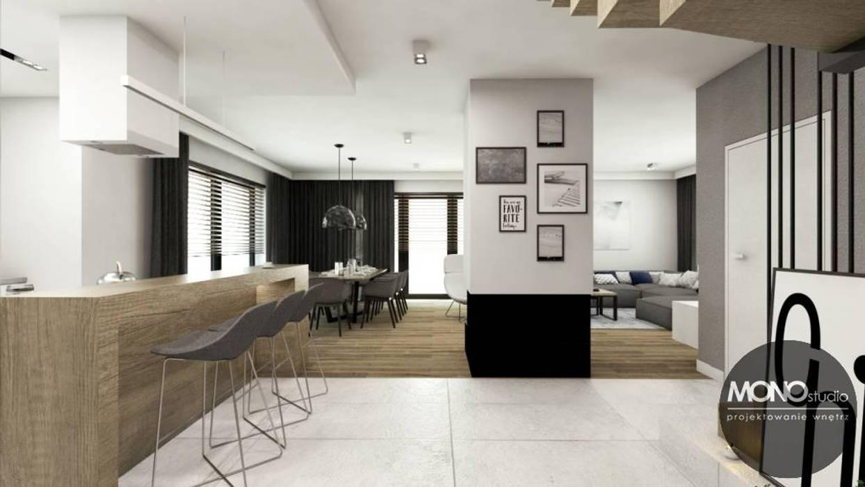 Cozinhas minimalistas por MONOstudio Minimalista