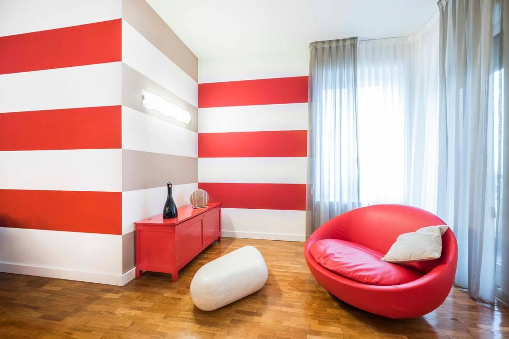 غرفة المعيشة تنفيذ UAU un'architettura unica