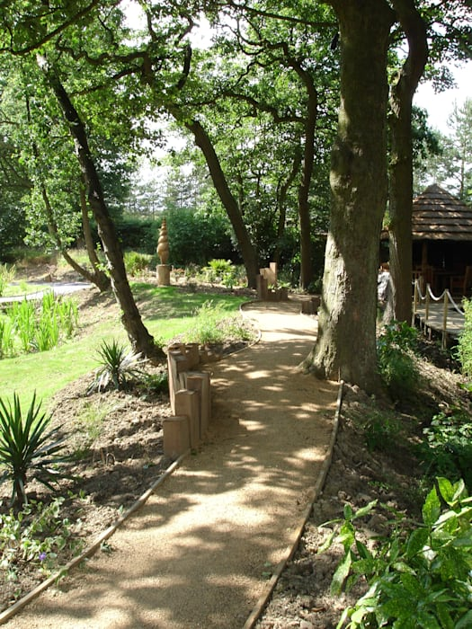 The Old Mill:  Garden by Charlesworth Design