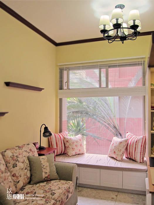 窗邊臥榻區 根據 以恩設計 鄉村風
