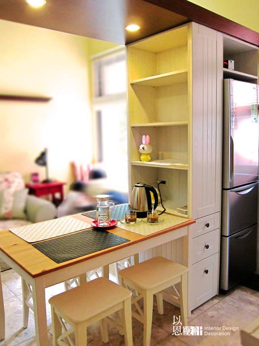 餐桌區:  餐廳 by 以恩設計