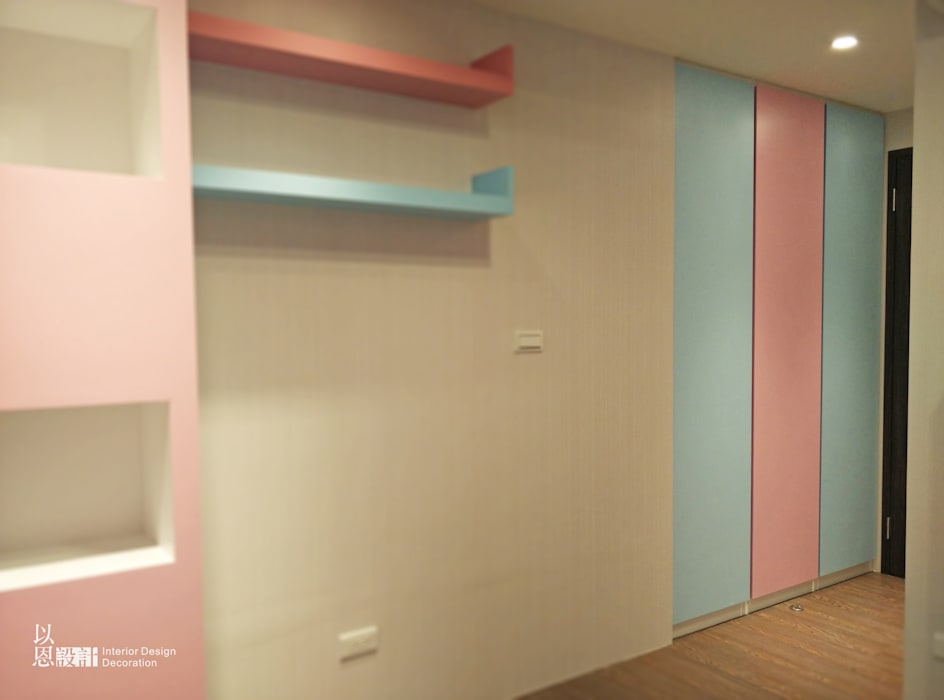 兒童房:  嬰兒/兒童房 by 以恩設計