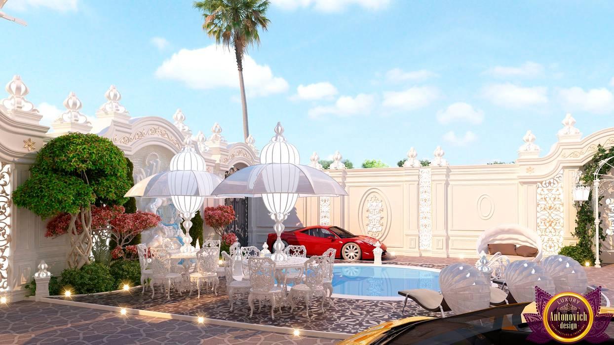 Mediterranean style houses by Luxury Antonovich Design Mediterranean