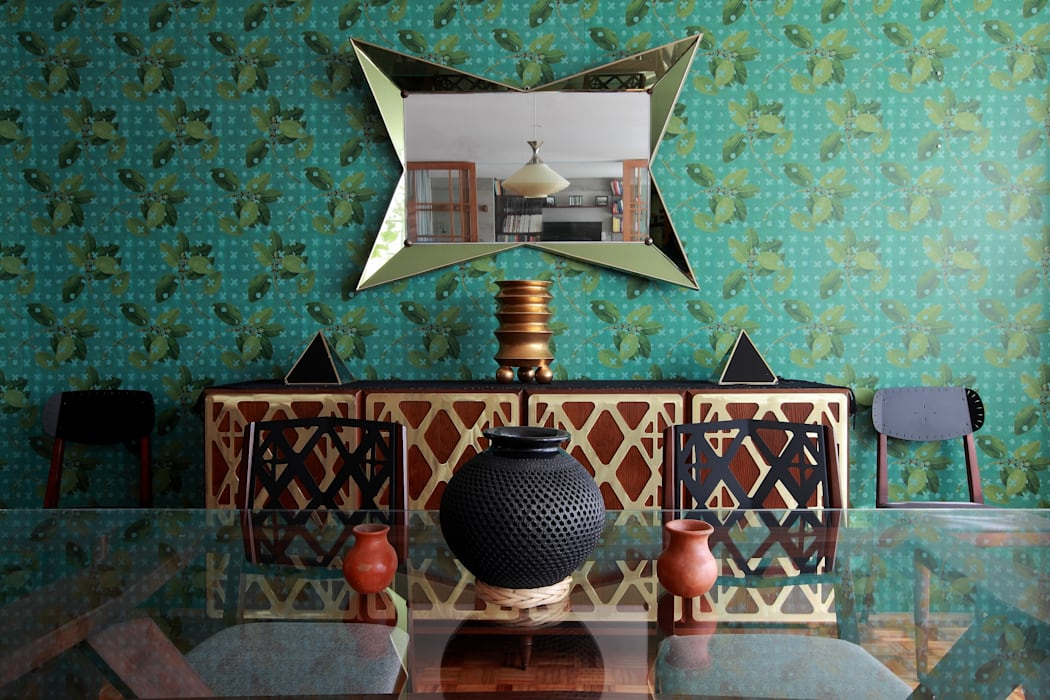 Parque México: Comedores de estilo  por All Arquitectura, Tropical
