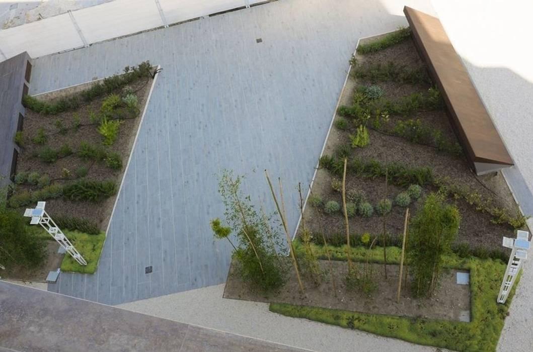 Giardino pensile: Giardino in stile in stile Mediterraneo di  landscapeABC studio garden design