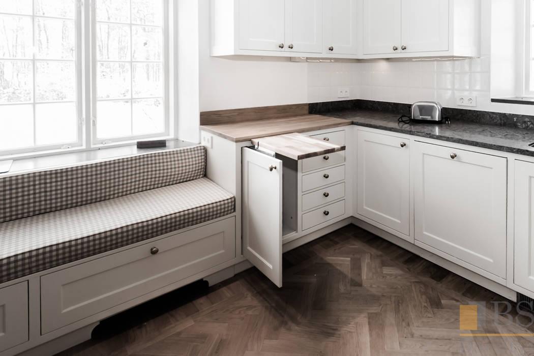 Kuchnia Biała Styl W Kategorii Zaprojektowany Przez Pphu