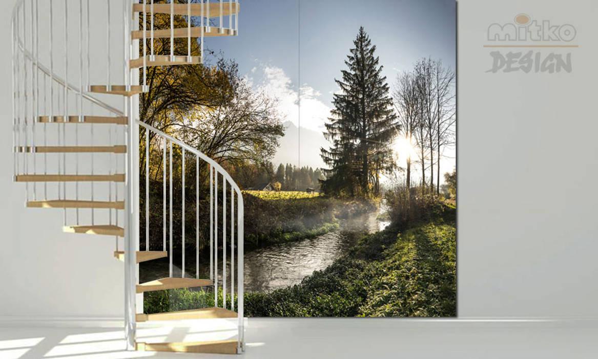 Couloir et hall d\'entrée de style par mitko design | homify